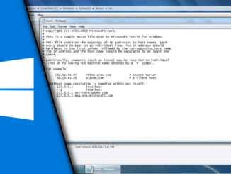 How to edit Hosts File Windows 7